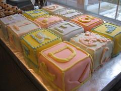 E4's baby shower cake (la torta)