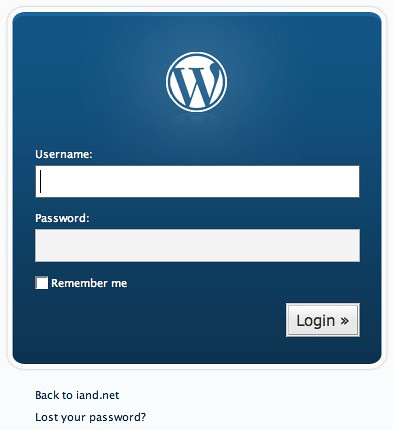 Wordpress 2.1 by Ian D, on Flickr