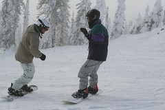 Dad & Jacko getting their punch on (tobysimm) Tags: places bigwhite