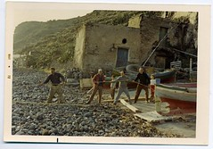 1972 Filicudi Island, Pecorini Harbour