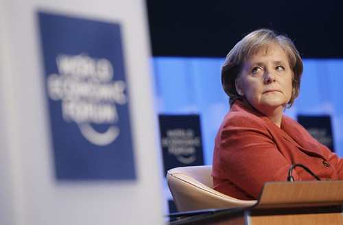 Angela Merkel - World Economic Forum Annual Meeting Davos 2007 by World Economic Forum.