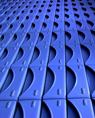 Drawers (horstgeorg) Tags: blue abstract colors perspective pharmacy drawers pharmacie apotheke apteka
