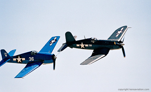 F4U Corsair - Two World War II US Navy Greats!