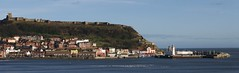 Scarborough West Pier, Harbour, and Castle