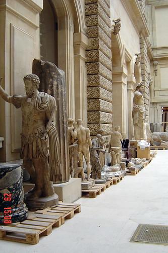 cour du sphinx, Louvre