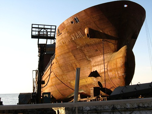 Ship building (Alapli Town, Black Sea coast of Turkey)