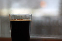 Rogue Mocha Porter (mfajardo) Tags: new winter wallpaper beer oregon d50 michael nikon fort background mocha co rogue pint collins porter fajardo microbrew michaeljfajardo
