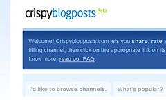 Crispy Blog Posts