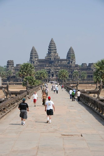 Angkor Wat and the tourists