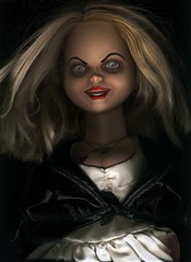 Bride of Chucky (GALE47) Tags: dolls surreal spooky nostalgia trashy collecting chucky mytoys bygones jennifertilly thebrideofchucky thefemaleofthespecies