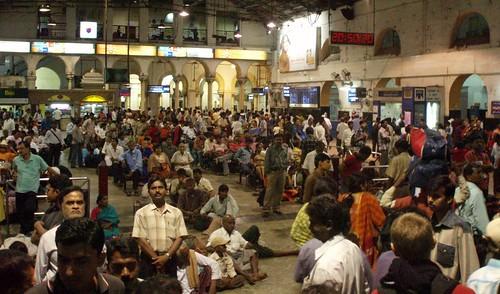 Train station in Chennai