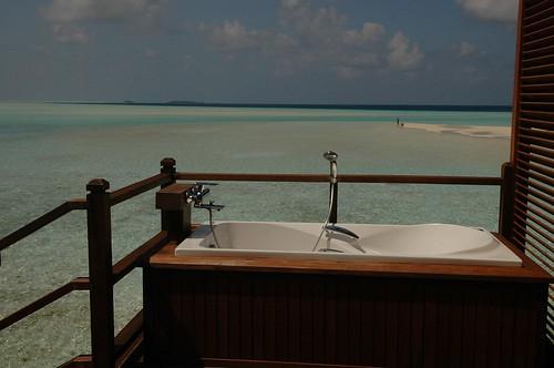 DSC_0140 Jacuzzi water villa 戶外浴缸