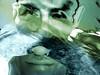 Aquatic Self Portrait (mattrkeyworth) Tags: sea portrait selfportrait water underwater sony aquatic corfu p12 dscp12 mattrkeyworth