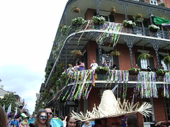 decorated balcony