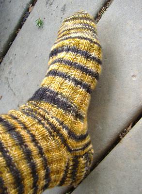 Lisa Souza Mombassa sock