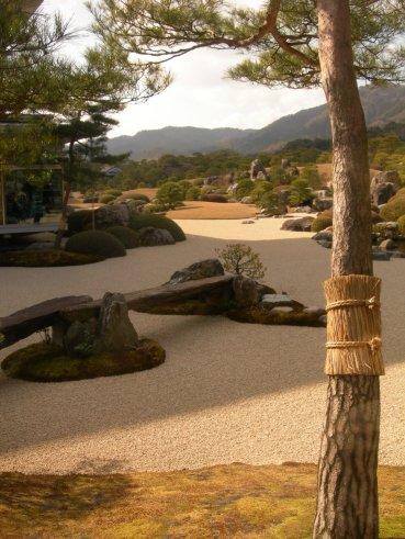 Adachi museum jardin japonais
