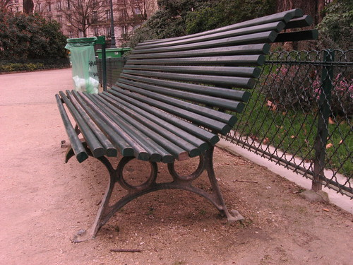 Paris, Park Bench