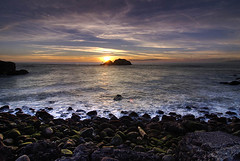 Sunset at the baths (Oldvidhead) Tags: sf sanfrancisco california longexposure sunset clouds evening twilight nikon bravo surf glow dusk sutrobaths sutro oceanbeach bluehour d200 nikondigital hdr magichour 2007 sealrock ericlarson photomatix nikond200 subtlehdr oldvidhead photomatixhdr diamondclassphotographer elarson