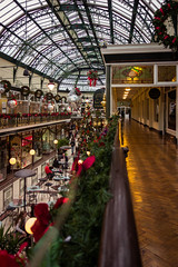 Christmas in The Wayfarers Arcade (paul_taberner_photography) Tags: southport wayfarersarcade christmas shopping