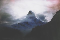 You were there (FlavioSarescia) Tags: nature landscape zermatt matterhorn sony sonyalpha6000 wanderlust hike mountain fog foggy clouds cloudy toblerone swiss switzerland home morning wander