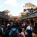 Meiji Schrein Shoppingstraße