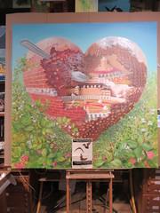 Rhinolophe Roche-Guyon (Pierre Marcel) Tags: chocolat rhinolophe rocheguyon château yves mûres îledefrance seine cuillère dessert délice jardin potager