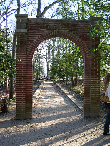 Archway to the slave memorial
