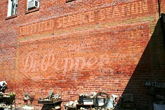dr. pepper ghost sign in groveton