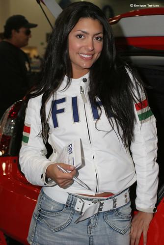 Hot Fiat Girl