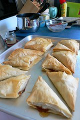 Phyllo Apple Turnovers