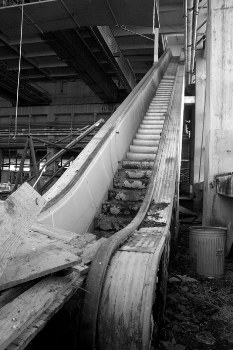 Once the World's Tallest Industrial Escalator