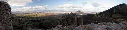 Panorámica Castillo de Clavijo