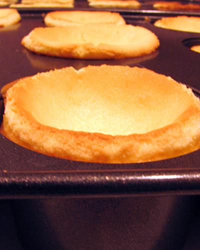 Mini Mini Lemon Cheesecakes