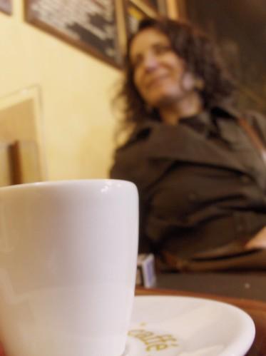 uma pausa para uma boa conversa, um bom café e algo mais...