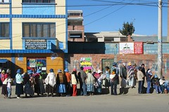 El Alto - From bus (willowD) Tags: bolivia lapaz elalto