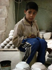 Young potterist