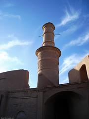 Shaking minaret in Kharanaq