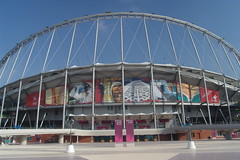 Khalifa Stadium (Jungle_Boy) Tags: doha qatar asiangames khalifastadium asiad