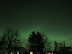 Aurora & Shooting star (zschernitz) Tags: aurora mchenry crystallake shootingstar nslsi
