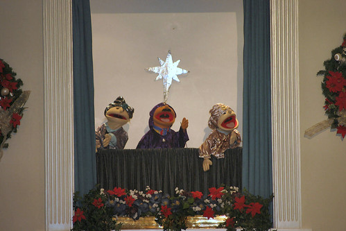 2006 Community Christmas Concert Puppets
