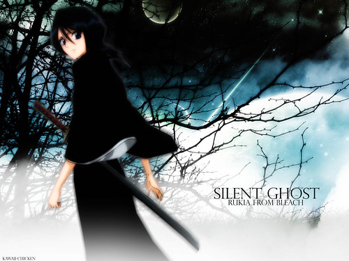bleach wallpapers. Silent Ghost Bleach Wallpaper