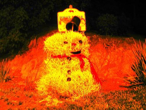 Demon Snowman