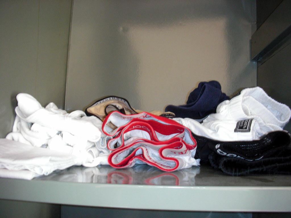 Neatly kept Undergarments