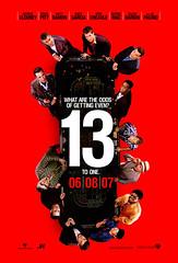 Vuelven Clooney y sus ladrones: Trailer y póster de 'Ocean's 13′