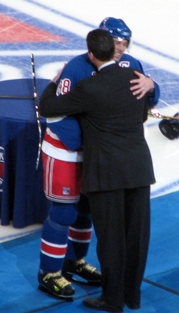 Jagr and Lemieux