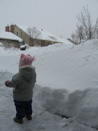 Child in driveway