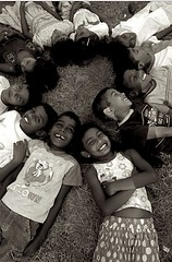 Children's laugh (Olivia Bonnal Sansoni) Tags: people blackandwhite colour portraits srilanka peopleofsrilanka childrenofsrilankabw