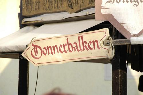 Mittelalterlicher Weihnachtsmarkt Esslingen - Donnerbalken