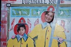 Firefighters Amanda and Jen