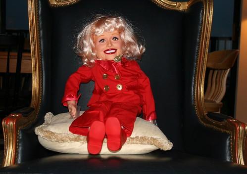Carol Channing Ventiloquist Doll